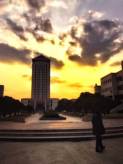 Soochow University Sunset_collection Taking Photos