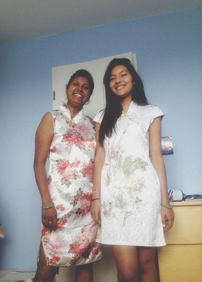 Asian  Asian Dress Mother Love