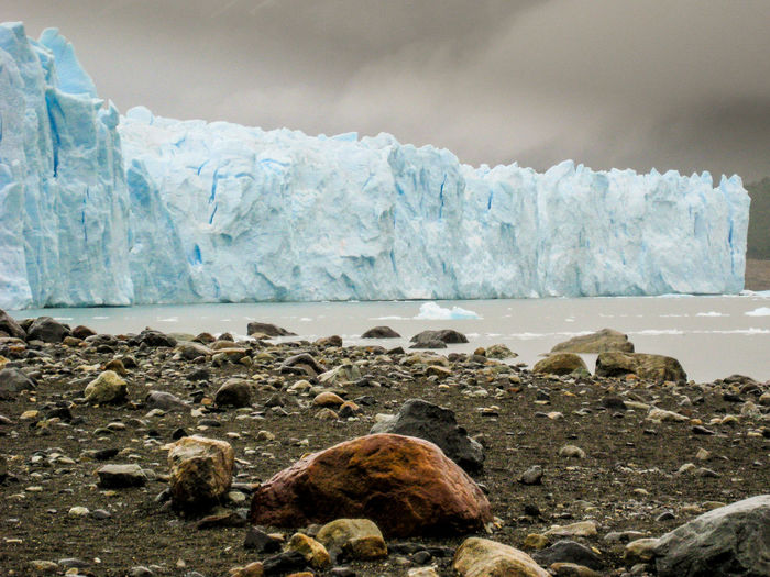 Idyllic Shot Of Perito Moreno Glacier At Los Glaciares National Park