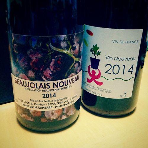 Wine Vino ワイン 解禁日 ボジョレーヌーボー Beaujolaisnouveau
