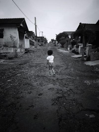 Walking at