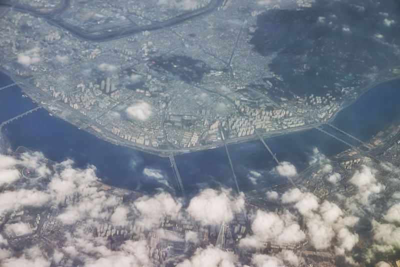 Korea Photos Bird View Seoul Seoul City From An Airplane Window Backgrounds No People Close-up Low Angle View Day Sky Fragility Water Animal Themes Travel City Han River Han River Bridge Outdoors Streamzoofamily Streamzoofamily Friends The Great Outdoors - 2017 EyeEm Awards
