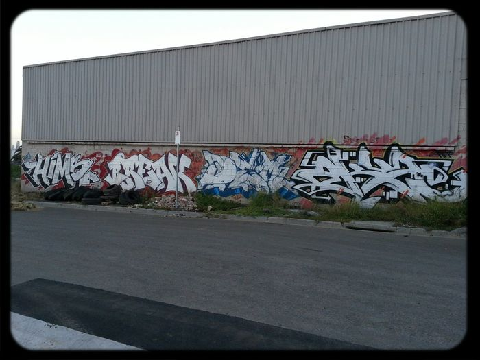 Graffiti Wildstyle Industrial walls out west.