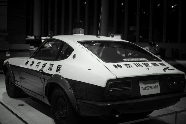 Nissan Car Monochrome Night Nissan Z No People Outdoors Transportation