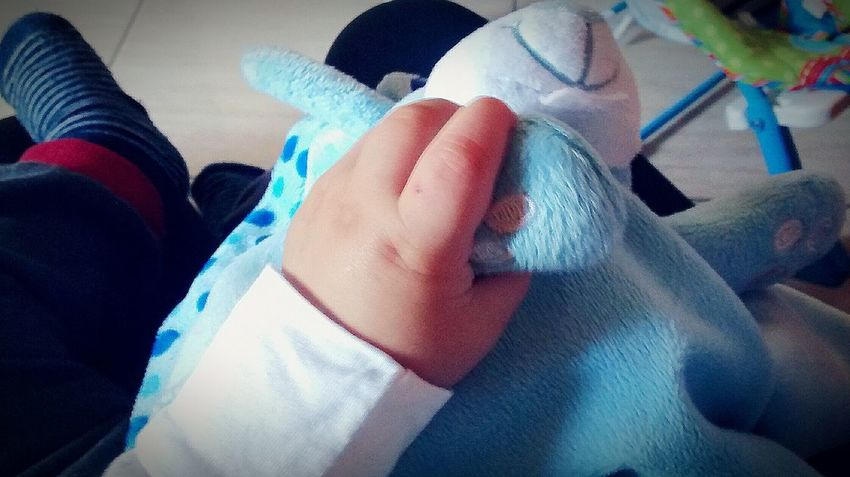 Human Body Part Indoors  One Person Multi Colored Real People People Baby Babyboy Close-up Human Hand Cute Baby Blue