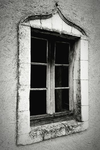 Windows Architectural Detail Architecture Blackandwhite Stone Frame