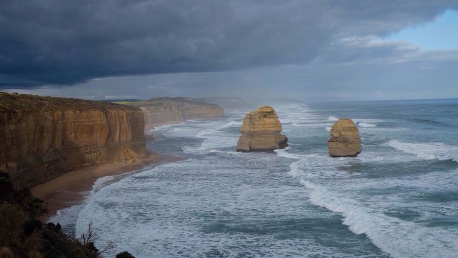Powerful !! Rocks Sea Landscape Australia Enjoying Life