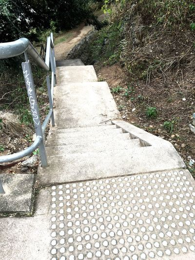 Stairs on a Bike Path in Penrith