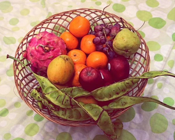 Fruit Basket Food And Drink Healthy Eating Food Fruits Fruits And Vegetables Stingky Bean Bean Beans Pete  Apple Orange Grapes