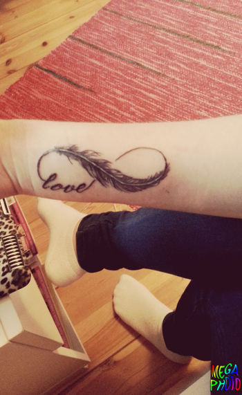 First tattoo :D ♡♡♡♡♡ Hanging Out