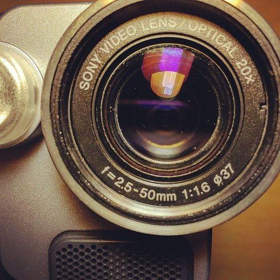 Vintage Lens Handycam Macro Photography