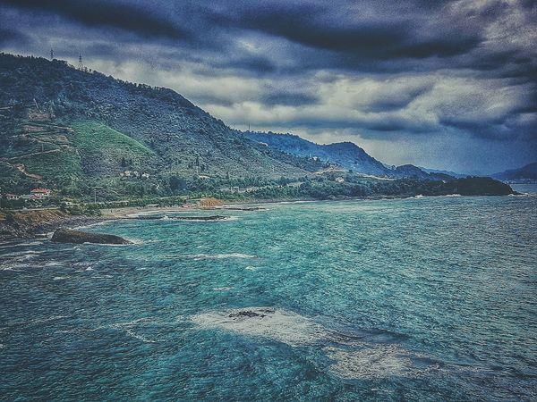 Water Full Frame Beauty In Nature Sky Nature Outdoors Mountain Blacksea Karadeniz Tirebolu Turkey Türkiye Waves Rain