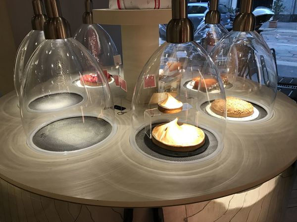 Bistrot Campane Candle Colazione Dolci Dolcichepassione Illuminated Indoors  Lighting Equipment Sweets Table Tea Light Torta Torte Vetrina