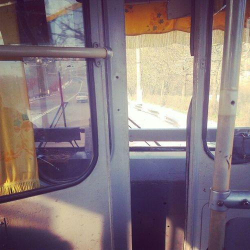 Ох уж эти троллейбусы люблю их