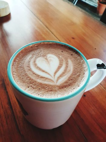 Drink Food And Drink Cup Coffee - Drink Mug Coffee Frothy Drink Refreshment Coffee Cup Hot Drink Cappuccino Froth Art Table Latte Still Life Indoors  Close-up Food Heart Shape No People