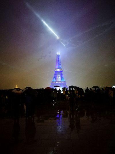 ParisByNight Effel Tower Violeta Coco Chanel Enjoying Life Hello World