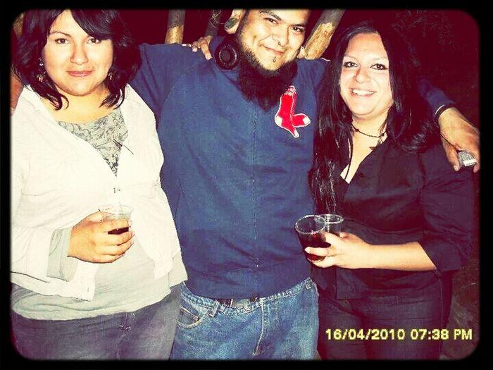 Con mi mejor amiga y el Pacorro !!!