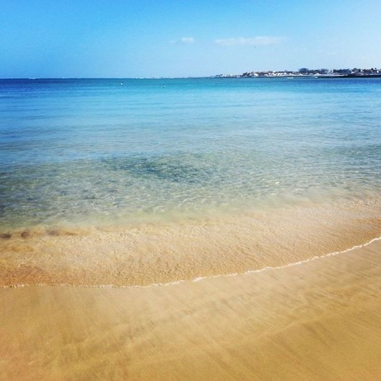 Bliss is swimming in this ocean every day ♥ Coast Water Ocean Beach Beautifuldays Fuertaventura Holidaymemories Swimming