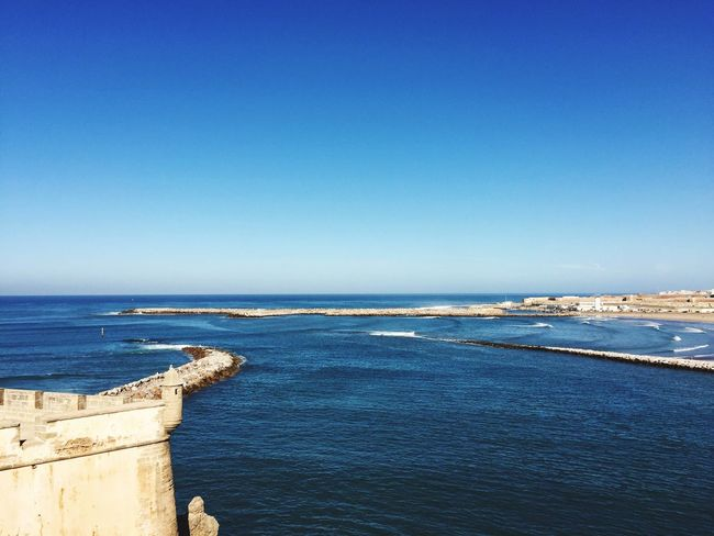Sea Taking Photos Hanging Out Beautiful Nature Rabat Oudaya Blue Sky Eye4photography  Fortress Fortress Wall Tower
