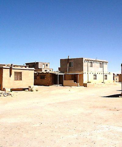Nativeamerican  Indian Reservation Dwellings Desertporn Pueblo Adobe Village Centered Earth Mother Nature