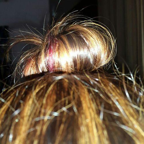 Hairstyle Topbun