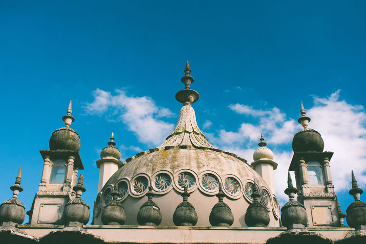 Architecture Brighton Brighton Royal Pavilion Brighton Uk Building Exterior Built Structure City Day Dome Low Angle View No People Outdoors Place Of Worship Religion Royal Pavilion Royal Pavilion Gardens Sky Travel Destinations EyeEm Best Edits