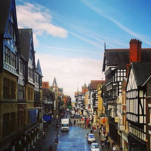 I absolutely love this place. Wish I could stay here longer. Uk Chester Friends Architecture instatravel