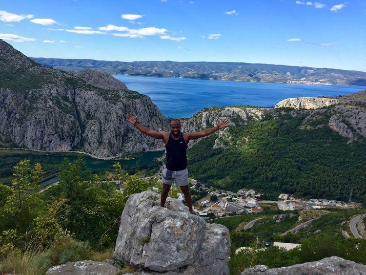 Beauty In Nature Scenics Rock - Object Nature Mountain Sky Tranquil Scene Outdoors Tranquility Day Landscape Croatia Split Croatia Split Holiday Urlaub Omis Croatia