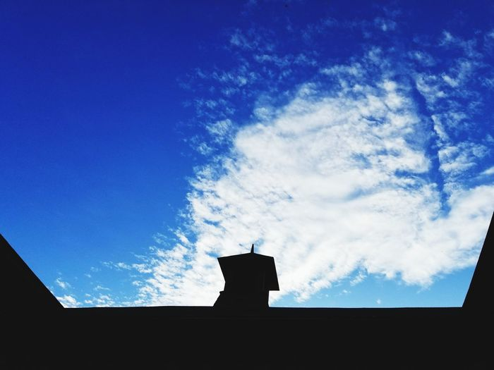 Building Exterior Silhouette Architecture Cloud - Sky No People Low Angle View Nature Beauty In Nature EyeEmNewHere Shadows & Light