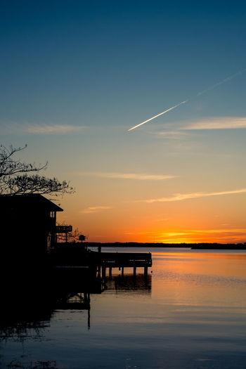 Sunset on a