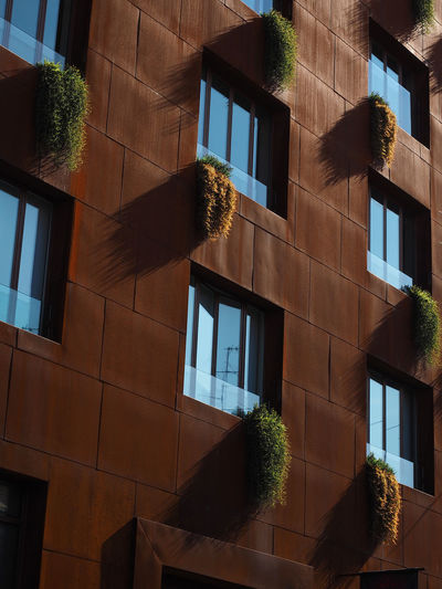 Quartiere Giardino, Garden District, Milan, Lombardy, Italy, Europe Architecture Iron Lombardy Milan Modern New Quartiere Giardino Architecture Building Exterior Built Structure City Clad Day Ermined Italy No People Outdoors Plant Street Tree Vertical Window