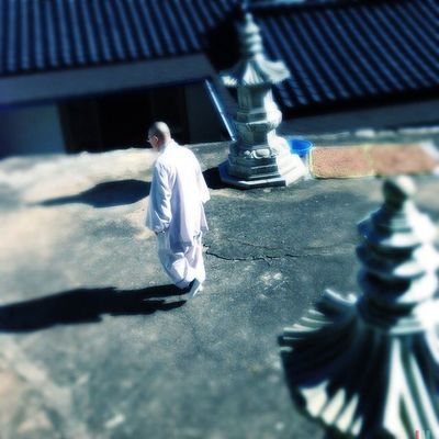 Hyeontongsa Temple Monk #Hipstamatic #Oggl #Tinto1884 #BlankoFreedom13 Hipstamatic Blankofreedom13 Tinto1884 Oggl