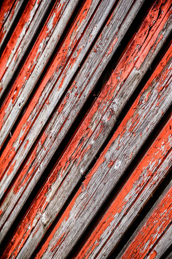 Backgrounds Board Close-up Fence Full Frame No People Outdoors Pattern Red Textured  Weathered Wood Wood - Material