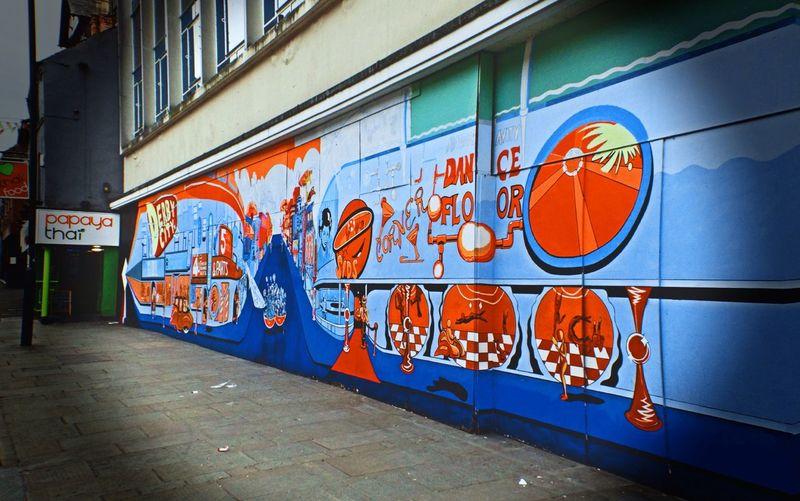 Papaya Thai Food Graffiti Urban Urbanphotography Derby Town Vignette