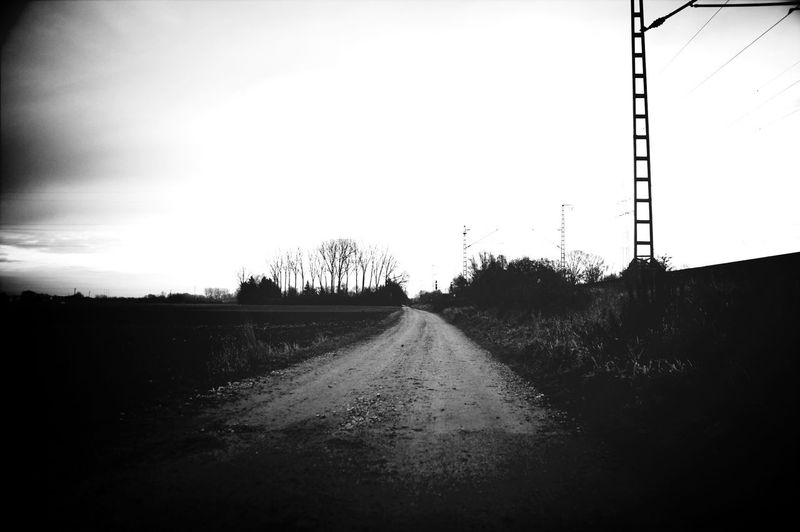 Monochrome Theroadtonowhere Roadsto... Nature Meets Man