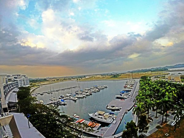 ??⛵ Viewfrommyroom Beutiful Day Throwback Johor Traders Hotel Follow4follow GoPro Hero3+ Goprolife Clouds And Sky
