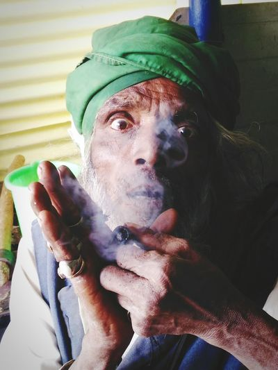 Strange Fashion Indian Old Age People Adults Only My Photography Smoking Gray Hair Fearful First Eyeem Photo The Portraitist - 2018 EyeEm Awards
