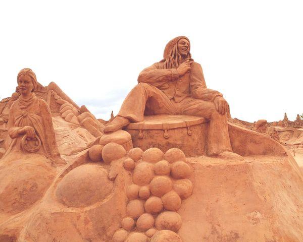 Sand Sculpture Sand Sculpture Park No People Art Imagination