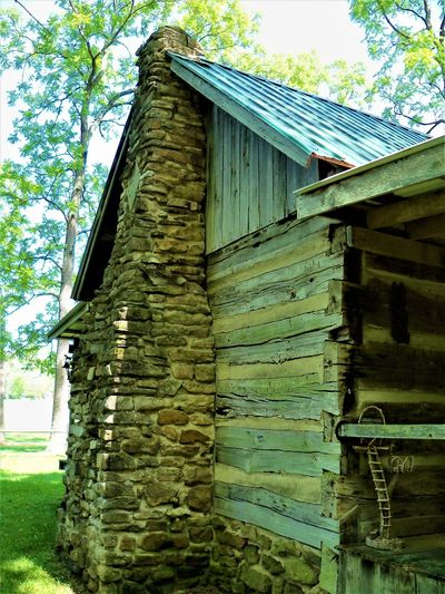 The Cabin Chimney Historical Building History Through The Lens  Indiana Log Cabin USA Architecture Building Building Exterior Built Structure Cabin Cabin In The Woods Cabin Life Cabins  Day Historic Historical History History Architecture Log Cabin Exterior Log Cabins Nature Outdoors Plant Tree