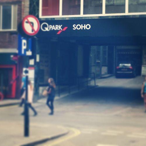 Soho street Centrallondon
