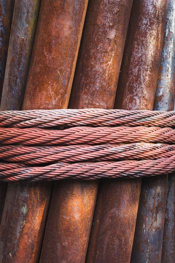 Full frame shot of rusty metal