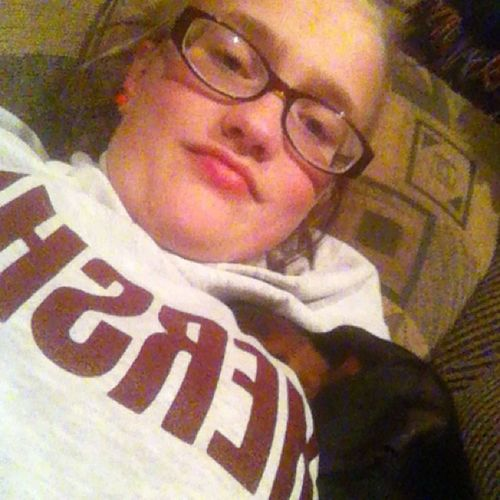 New cuddle buddy ?? Dog Hershey 'shoodie Littlesistersdog Fellasleep comfy misshim loveher followme extrahashtags sleepy