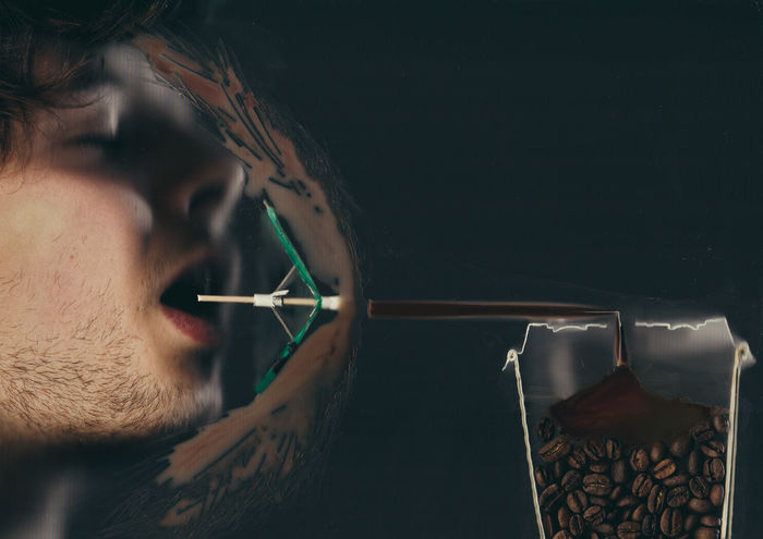 Cameraless Images Cameraless Photography Coffee Beans Coffee Time Conceptual Conceptual Art Conceptual Photography  Conceptualart Conceptualphotography Dada Dadaism Man Ray Morning Coffe Morning Coffee Scan Scanography Story Story Photography Story Time Surrealism Surrealism And Fantasy Art Surrealist Art Umbrella Umbrellas