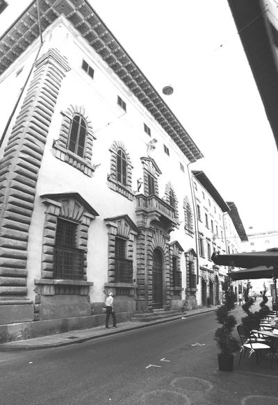 B&w Street Photography Old Italy Old Town Building