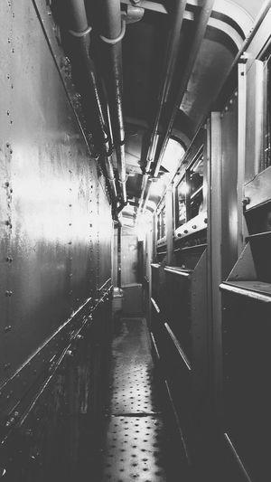 Train Train Museum Vanishing Point Hallway
