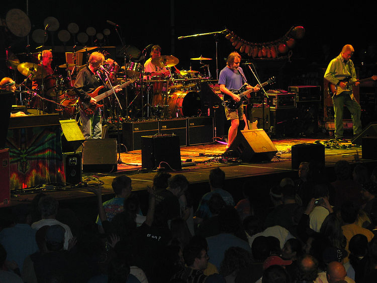 12/02/2002 Abundance Arts Culture And Entertainment Bill Kreutzmann Bob Weir Concert Photography Conseco Field House Crowd Cultures Event Grateful Dead Illuminated Indianapolis, IN Jeff Chimenti Jimmy Herring Large Group Of People Leisure Activity Lifestyles Men Mickey Hart Night Phil Lesh Rob Barraco Rock And Roll The Other Ones