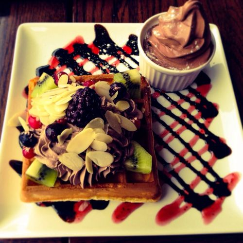 Delicious waffle ever!