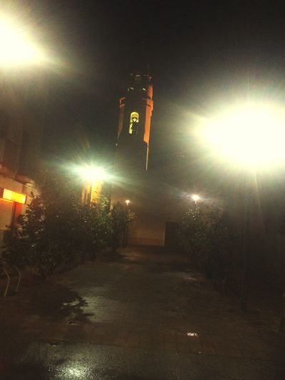 Night Street iglesia church