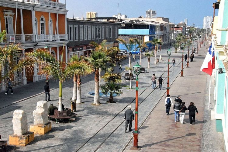 Large Group Of People Day Built Structure Sunlight Real People Architecture Outdoors People Building Exterior City Chile Iquique