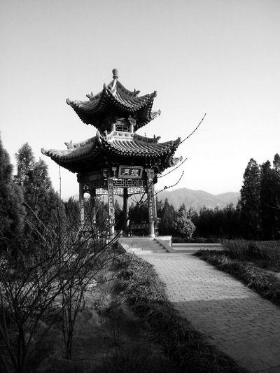 Shanxi, China Black And White Friday